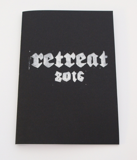 Retreat 2016 with DVD Katherine Burke, Erin Busswood, Phoebe Davies, Georgia Denison, Graeme Durant, Paul Gwilliam, Jonathan Hoskins, Rowan Lear, Hamish Macpherson, Andrew Maughan, Ben Sanderson, Linny Venables, Sam Venables, Llew Watkins, Michael Whitby of Retreat Film